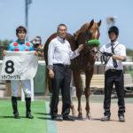 トライフォーリアル新馬表彰式